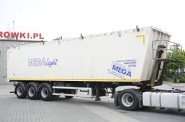 kipper oplegger Mega MNL 35.5t , 60m3 , ALUMINIUM , flap doors , load 29t , 3X MEGA a 2016
