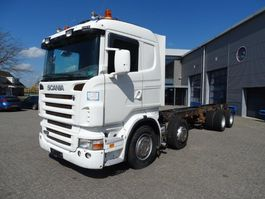 chassis cabine vrachtwagen Scania R420 / 8X2 / FULL-AIR / LOW-KM / EURO-4 / 2008 2008
