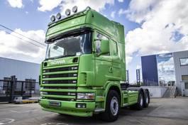 standaard trekker Scania 164G-480-V8+Lames/Spring+Manual+Indarder+hydr. 2004