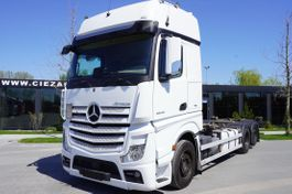chassis cabine vrachtwagen Mercedes-Benz Actros 2548 , E6 , 6X2 , chassis 7,2m , BDF , GIGASPACE , 2 beds 2018