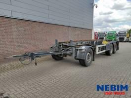 container chassis aanhanger GS Meppel AIC2700 Abrollanhänger 2016
