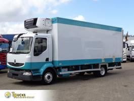 koelwagen vrachtwagen Renault Midlum 190 DXI + Manual + Carrier Supra 750 Mt + LIFT 2007