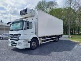 koelwagen vrachtwagen Mercedes-Benz Axor 1824 euro 5- dhollandia 1500kg- carrier