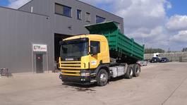 kipper vrachtwagen > 7.5 t Scania 114 - 380 (BIG AXLE / FULL STEEL SUSPENSION / MANUAL GEARBOX / 10 TIRES / 6X4) 2004