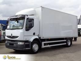 bakwagen vrachtwagen Renault Midlum 270 DXI + Euro 5 + Dhollandia Lift 2013