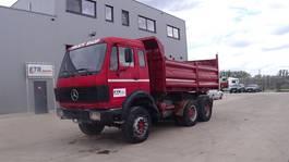 kipper vrachtwagen > 7.5 t Mercedes-Benz SK 2628 (GRAND PONT / LAMES / V8-MOTEUR / 6X4 / POMPE ET BOITE MANUELLE) 1980