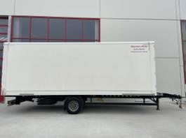 gesloten opbouw aanhanger Möslein EK1-D 1 Achs Kofferanhänger Durchladbar 2015