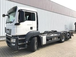 chassis cabine vrachtwagen MAN TGS 26 6x2-4 BL TGS 26.400 6x2-4 BL, Intarder, Lenk-Liftachse 2014