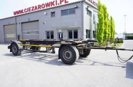 container chassis aanhanger Kögel AWE 18 , BDF 7,5m , 2 axles , SAF axles 2016