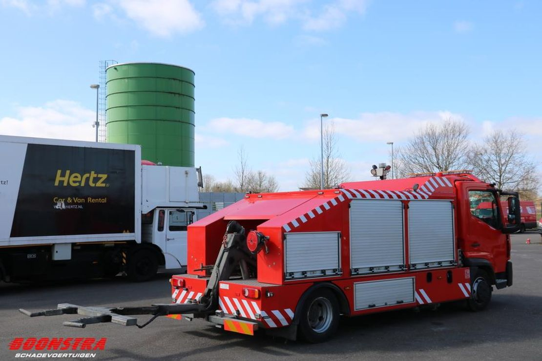 takelwagen-bergingswagen-vrachtwagen Renault D 180.75 4X2 Aut. Omars 2t. Hubbrille Winde 2016