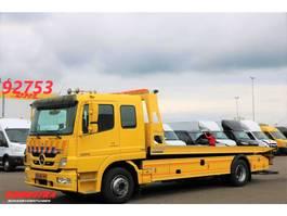 takelwagen-bergingswagen-vrachtwagen Mercedes-Benz Atego 1224 1224L DoKa Omars 4t Schiebeplateau Bergingswagen 2011