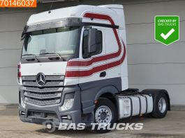 standaard trekker Mercedes-Benz Actros 1845 4X2 2x Tanks Euro 6 BigSpace 2017