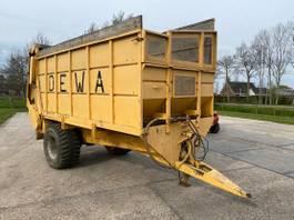 opraapwagen - silagewagen Dewa Silage wagen Aangedreven wagen 1998