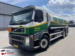 tankwagen vrachtwagen Volvo FM 420 EEV 6x2 Dijssel 4 componenten brandstofwagen 22400 liter 2010