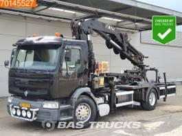 platform vrachtwagen Renault Premium 210 4X2 NL-Truck Manual Euro 2 Pesci SE325+JIB 4J3 2001