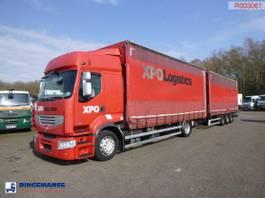 overige vrachtwagens Renault Premium 460 19 dxi Euro 5 EEV volume curtain sider + Samro trailer 2013