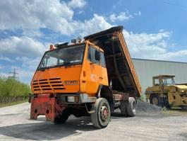 kipper vrachtwagen > 7.5 t Steyr 4X4, Meiller Kipper, Full Steel, Manual 1987