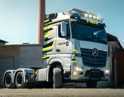 zware last trekker Mercedes-Benz AROCS 5 2653 LSDNA 6x2 mit HAD, MIETEN? 2021