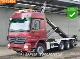 containersysteem vrachtwagen Mercedes-Benz Actros 2650 8X4 V8 Retarder Big-Axle Lift+Lenkachse Euro 3 2004