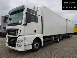bakwagen vrachtwagen MAN TGX 26.500/Retarder /LBW /KOMPLETT /Durchladezug