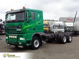 chassis cabine vrachtwagen DAF XF 105 + Manual + Euro 5 + Retarder + adr+6x4 2013