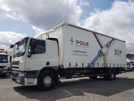 schuifzeil vrachtwagen DAF 75 CF 310 - CURTAINSIDES 8m60 2008