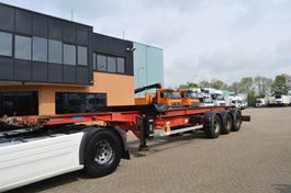 container chassis oplegger ASCA S33822 // 20/40 FFET // ADJUSTABLE SPECIAL // 3AXLE /// 1997
