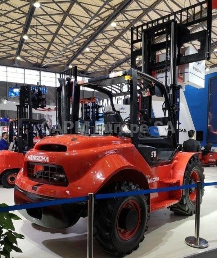 vorkheftruck Hangcha TT50-4 2020