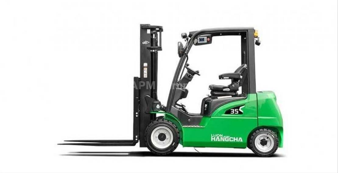 vorkheftruck Hangcha XC35 LI-ION 2020