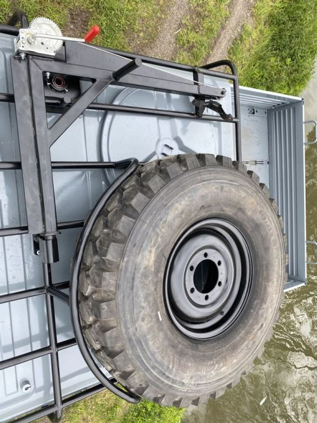 leger vrachtwagen Mercedes-Benz Unimog U1300 - 4x4 - DOKA 1900