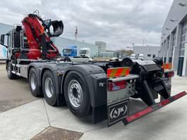 containersysteem vrachtwagen MAN New Generation 35.470 8x4-4 BL-NN HMF 2243-Z2 kraan+containerhaak 2021