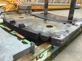 overige equipment onderdeel Grove GMK 5100 counterweight 4T