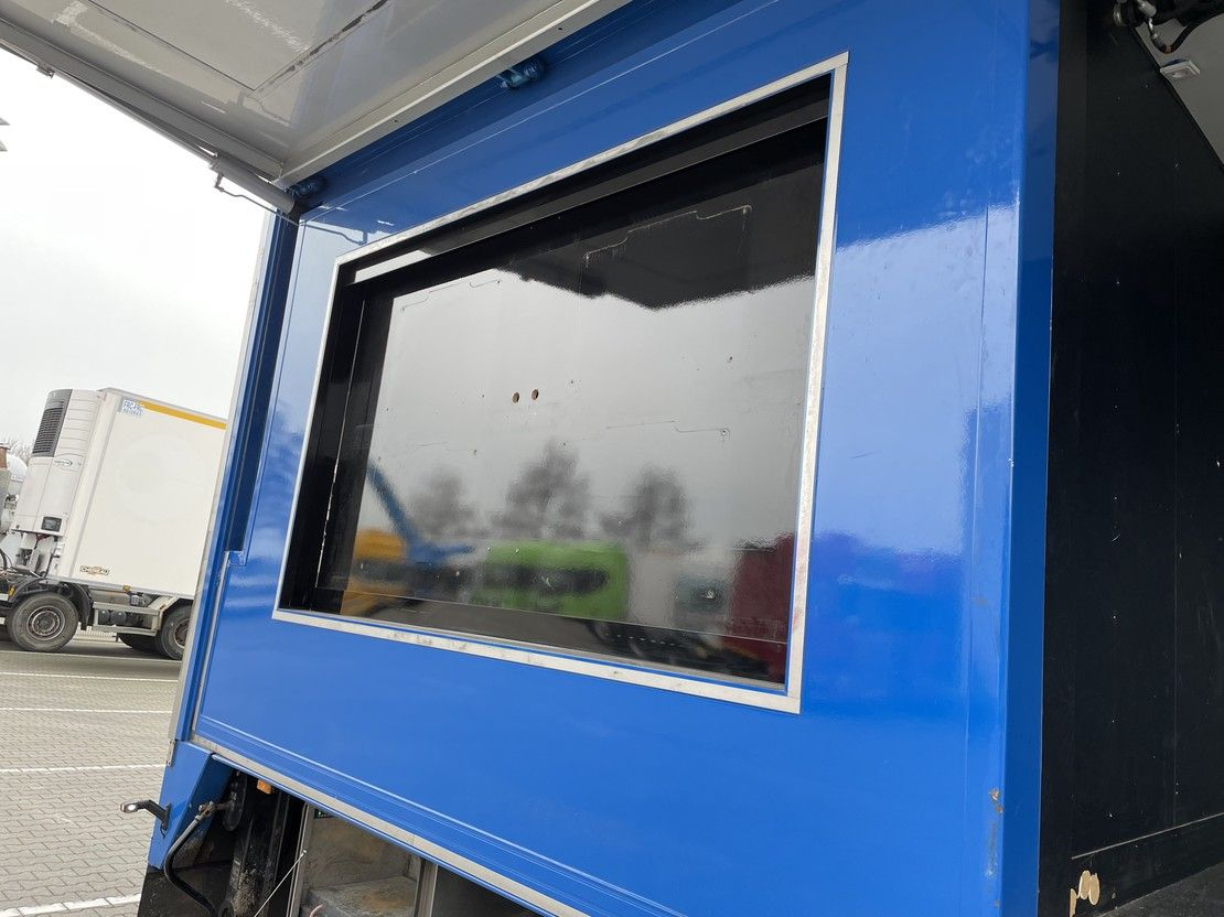 verkoop opbouw oplegger Trias EXPOSITIETRAILER LIKE,NEW! 2015