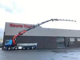 kipper vrachtwagen > 7.5 t Scania G 10X4 + KIPPER/TIPPER + EFFER 850 6/S + JIB 6S KRAAN/KRAN/CRANE/GRUA 2010