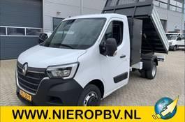 open laadbak bedrijfswagen Renault master kieper 145pk airco navi 3500kg trekhaak nieuw 2021