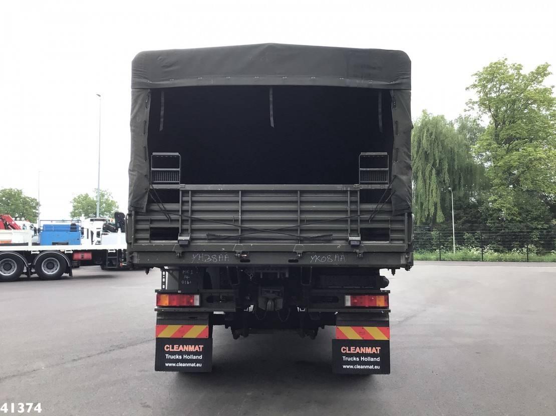 leger vrachtwagen MAN HX 18.330 4x4 RHD Military truck 2010