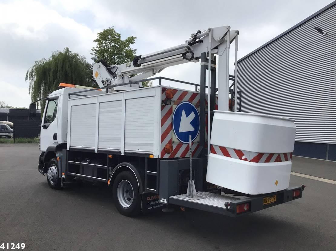autohoogwerker vrachtwagen DAF 55 LF 180 Custers 14,5 meter hoogwerker 2003