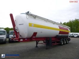 tankoplegger SPITZER Powder tank alu 65 m3 (tipping) 2002