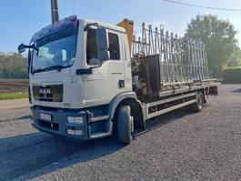 open laadbak vrachtwagen MAN TGM 12 Euro5 Kraan Effer 2010