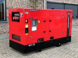 generator Himoinsa Iveco Mecc Alte Spa HFW 75 kVA Supersilent generatorset 2012