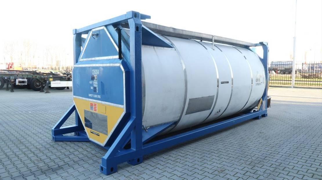 tankcontainer Diversen 20FT, swapbody, 26.090L TC, 1 comp., UNPORTABLE, T7 2003