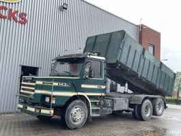 kipper vrachtwagen > 7.5 t Scania T143 Torpedo 143 6x2 kipper 1992