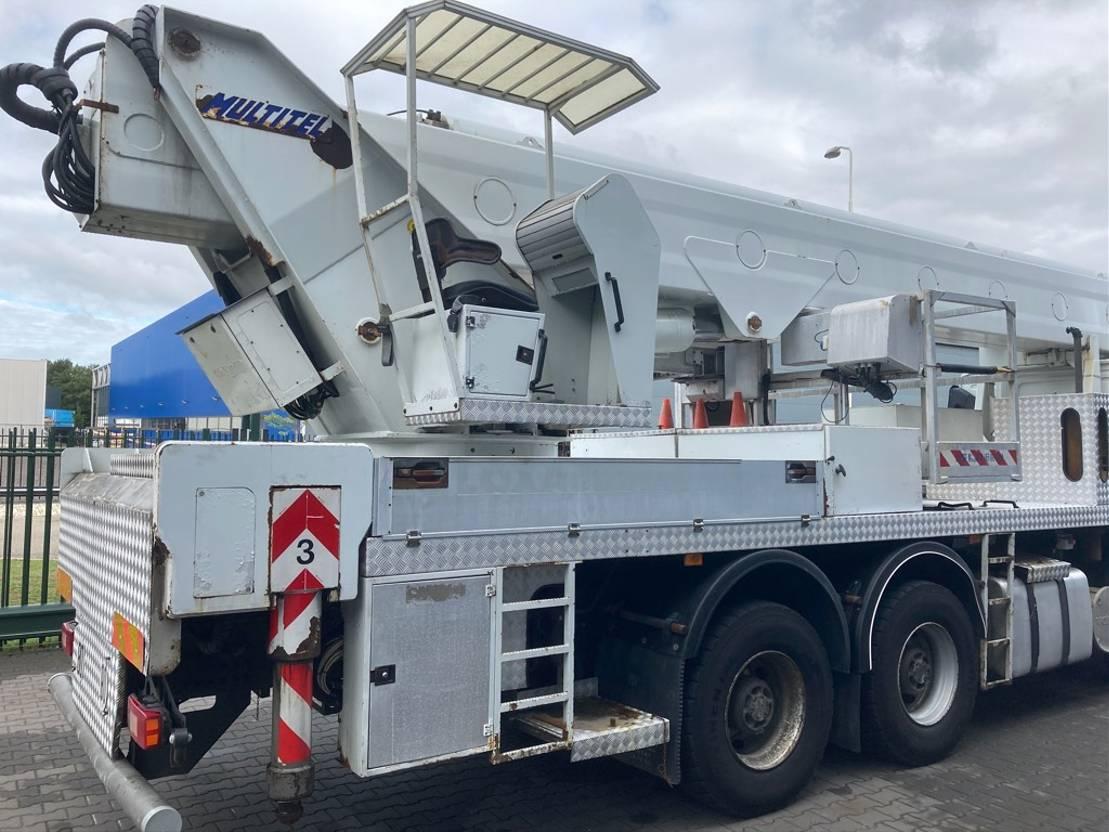 autohoogwerker vrachtwagen Multitel J352A hoogwerker 52 mtr 2004