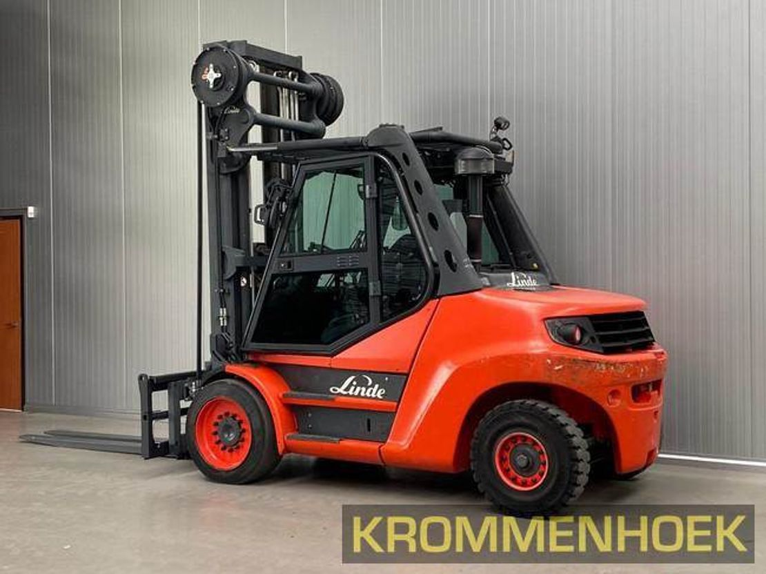 vorkheftruck Linde H 80 D-900 | Triplex 6.5 mtr. 2014