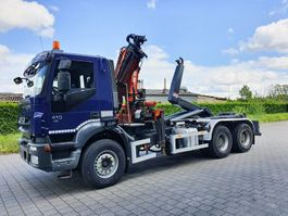 kraanwagen Iveco trakker 410 6x4 CONTAINER SYSTEEM- CONTAINER SISTEEM- CONTAINER HAAKSYSTEEM- SYSTEME CONTENEUR 2008
