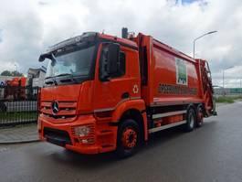 vuilniswagen vrachtwagen Mercedes-Benz ANTOS 2532 6X2 EURO 6  VUILNISWAGEN / KEURING / TUV / LOW KM / PERFECT CONDITION !! 2014