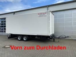 gesloten opbouw aanhanger Möslein 04.2022 TKO 105 D Schwebheim Tandem- Koffer- Anhänger, DurchladbarGuter ... 2019