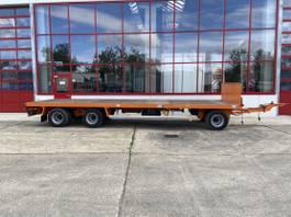 platte aanhanger vrachtwagen Huffermann HPA 24.83P 3 Achs Jumbo- Plattform Anhänger 2011