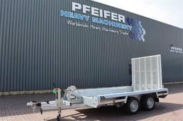 platte oplegger Hulco Terrax-2 3500 LK 2 Axel Trailer, 2.770 kg Ca 2021