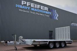 platte oplegger Hulco Terrax-3 3500 LK 3 Axel Trailer, 2.550 kg Ca 2021